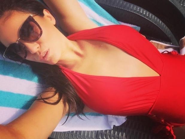 Vicky Pattison selfie, Instagram 24 November