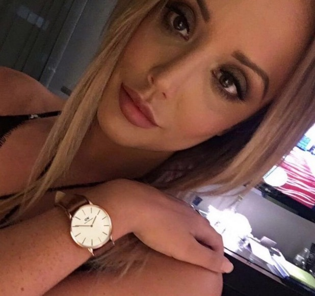 Charlotte Crosby selfie, Instagram 22 November