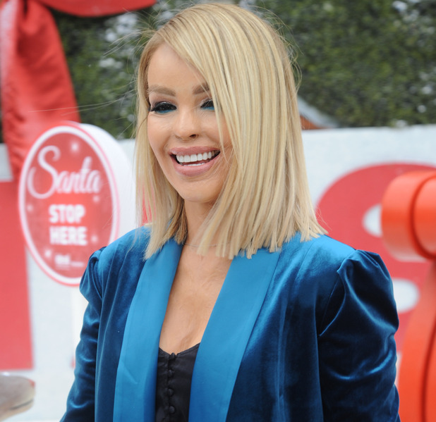 Katie Piper, Ideal Home Show at Christmas, London, 23 November 2016