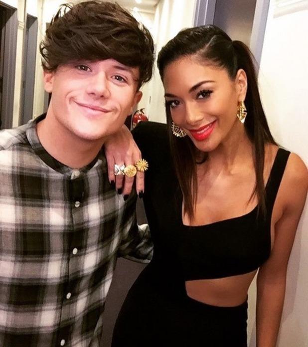 Nicole Scherzinger and Ryan Lawrie, The X Factor 20 November