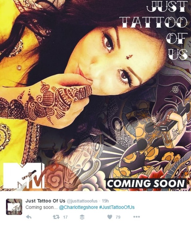 Charlotte Crosby for Just Tattoo Of Us 2016