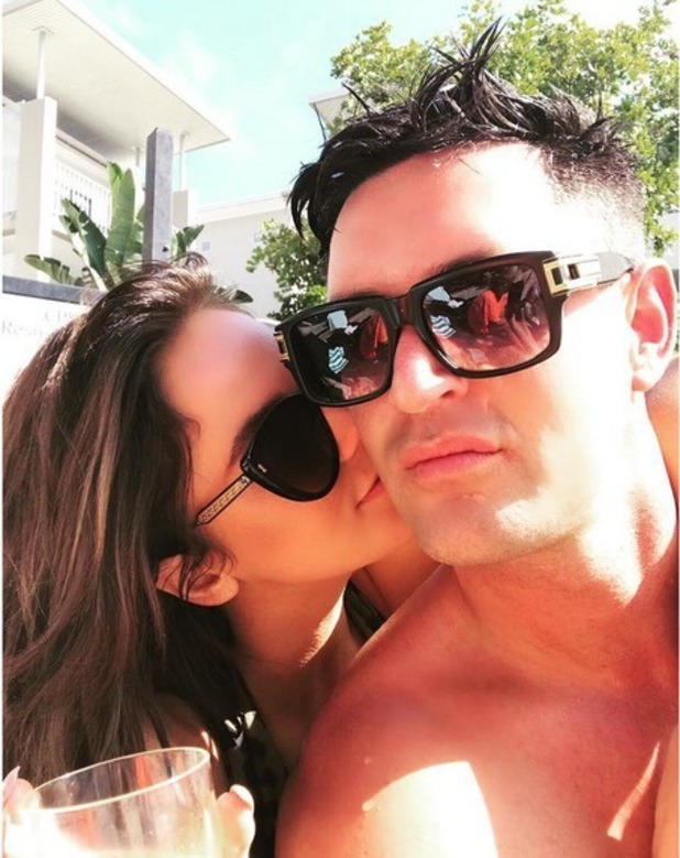 Vicky Pattison and John Noble, Instagram 22 November