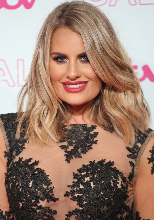 Danielle Armstrong, TOWIE, at the ITV Gala, London, 24 November 2016