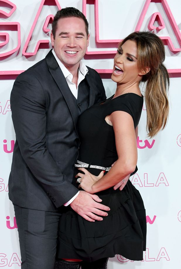 Katie Price and Kieran Hayler seen leaving the Itv Gala afterparty held at Aqua bar and restaurant in London. 2016