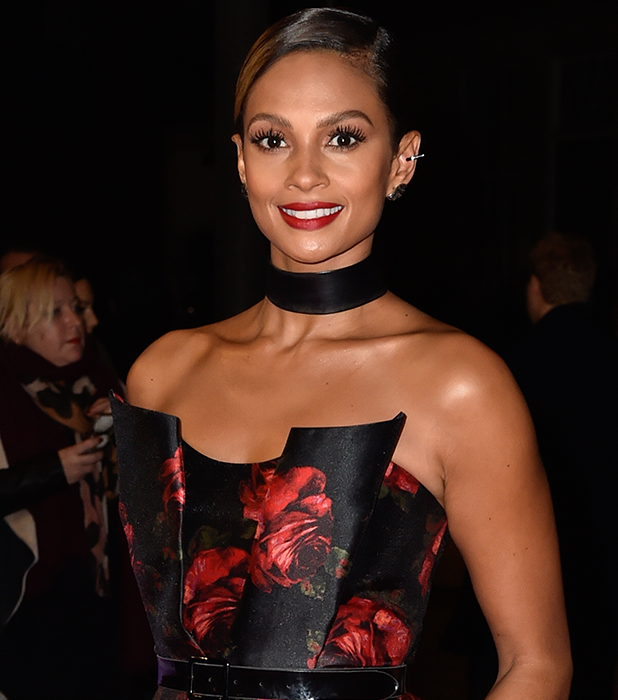 Celebrities arrive on the red carpet for the annual Pride of Britain Awards Alesha Dixon