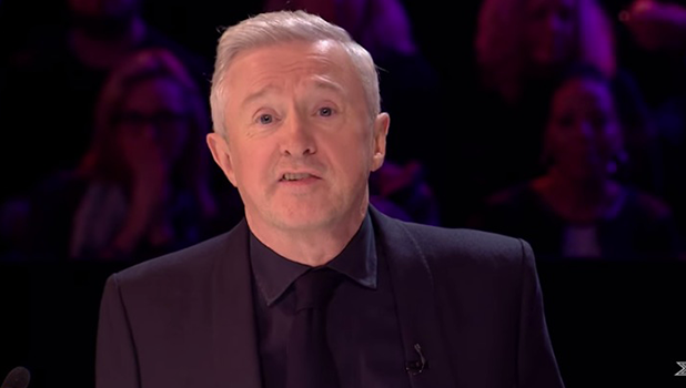 Louis Walsh on Xtra Factor 2016