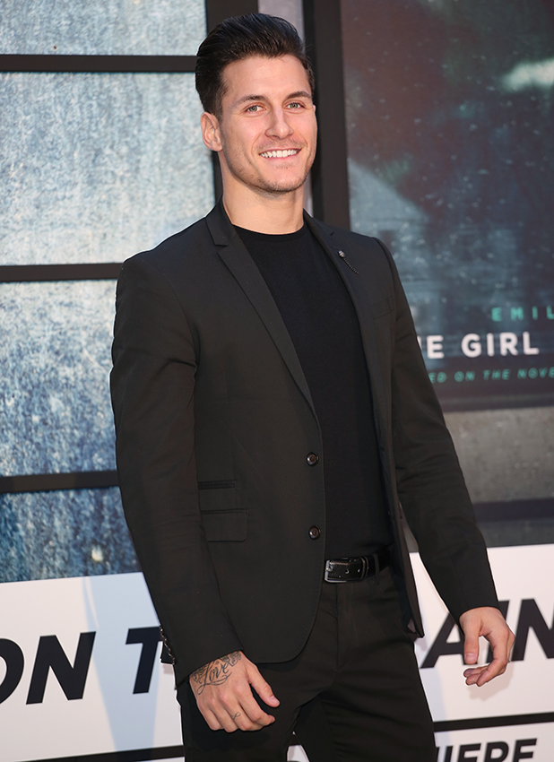 The Girl on the Train World premiere - Arrivals GORKA MARQUEZ