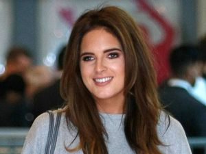 Made In Chelsea's Binky Felstead at the Clothes Show Birmingham, NEC, 1 December 2016