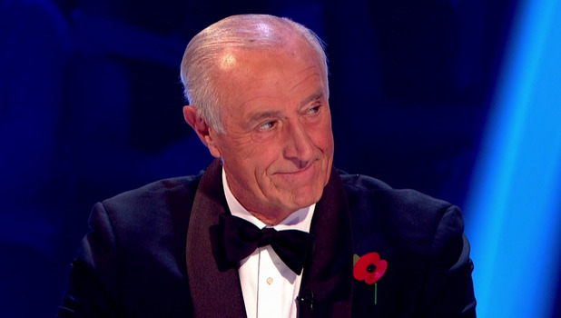 Len Goodman, Strictly Come Dancing, BBC 26 November