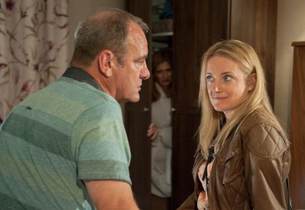 Emmerdale, Nicola surprises Jimmy, Thu 1 Dec