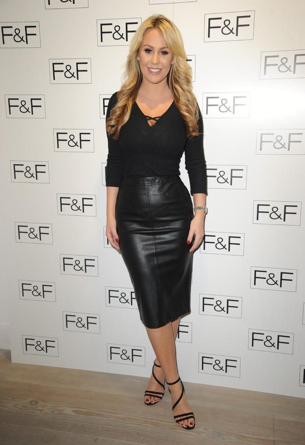 Kate Wright at F&F SS17 launch, London, 1 December 2016
