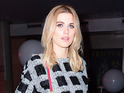 Ashley James out and about in London, 1 December 2016