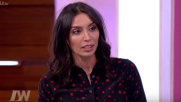 Christine Bleakley in Loose Women 2016