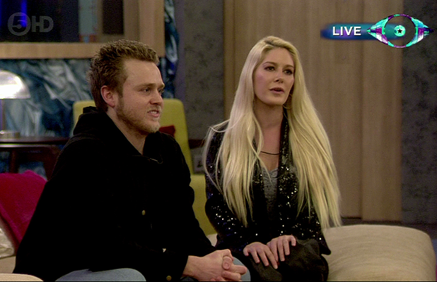 Celebrity Big Brother Live Final. Shown on Channel 5 HD Heidi Montag and Spencer Pratt give there final plea to the public to vote him to win Celebrity Big Brother.