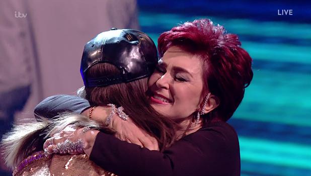 X Factor: Honey G and Sharon Osbourne 2016