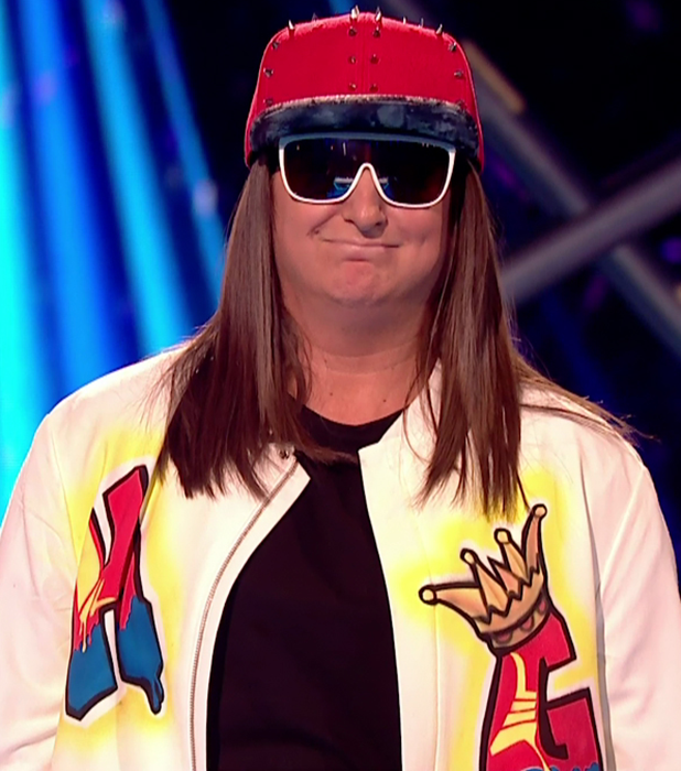 X Factor's Honey G on Louis Loves 2016