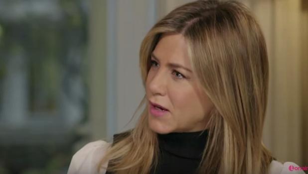Jennifer Aniston on ITV's Lorraine 2016