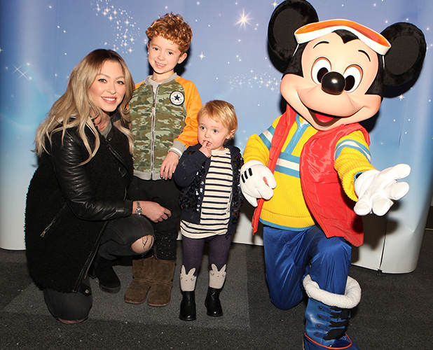 Natasha Hamilton at Disney On Ice presents Frozen in Liverpool 2016