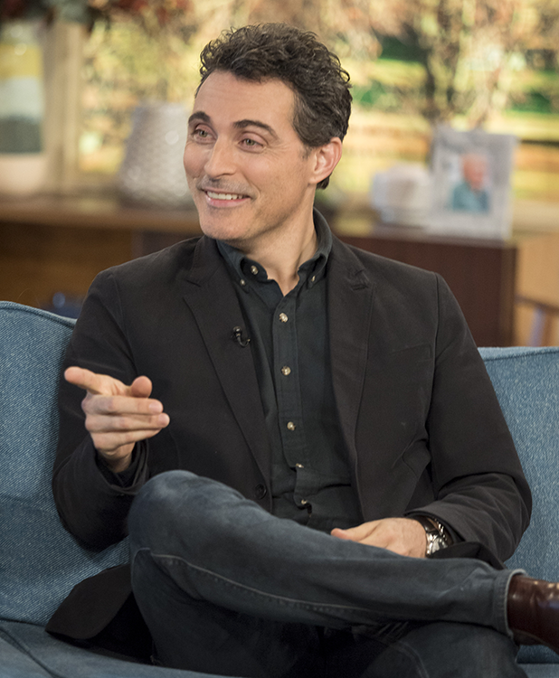 'This Morning' TV show, London, UK - 28 Nov 2016 Rufus Sewell