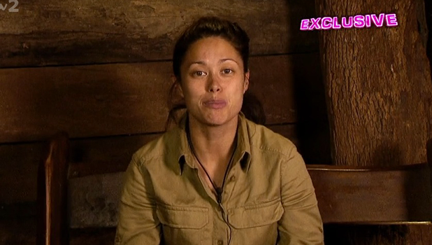 Sam Quek talks about Larry Lamb's cooking on I'm A Celebrity 2016