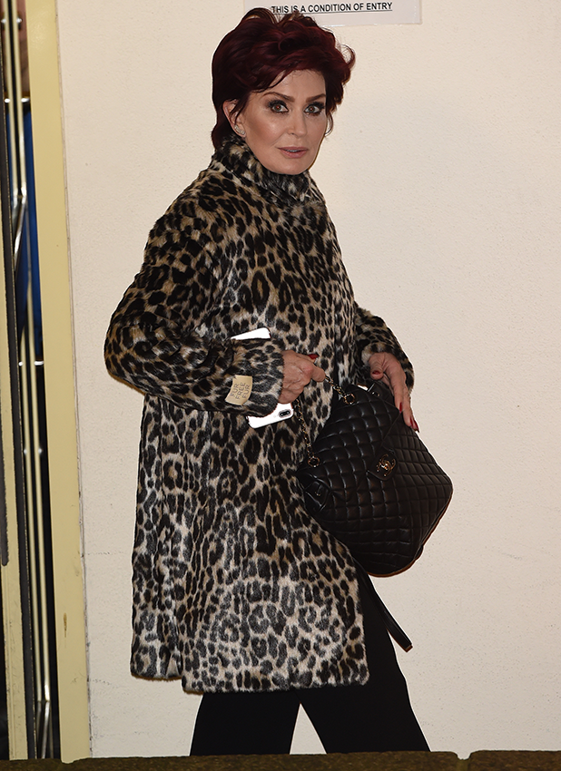 X Factor Judges leave Fountain studios in London Sharon Osbourne 2016