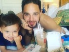 I'm A Celebrity: Adam Thomas reunites with son Teddy and it's the CUTEST thing