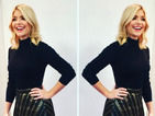 Exact match! Get Holly Willoughby's party-perfect skirt on the high-street