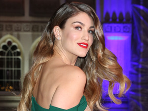 I'm A Celebrity star Amy Willerton on the red carpet at the Military Awards 14 December 2016