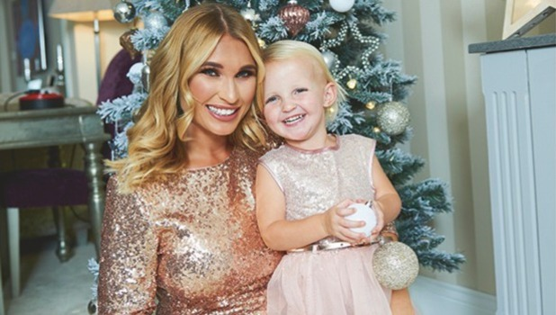 Billie Faiers and daughter Nelly for Christmas 2016 issue