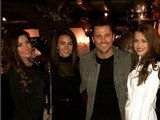 Mark Wright and Michelle Keegan at Sheesh Chigwell, Essex 14 December