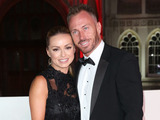 Ola Jordan and husband James Jordan at The Sun Military Awards 14 December