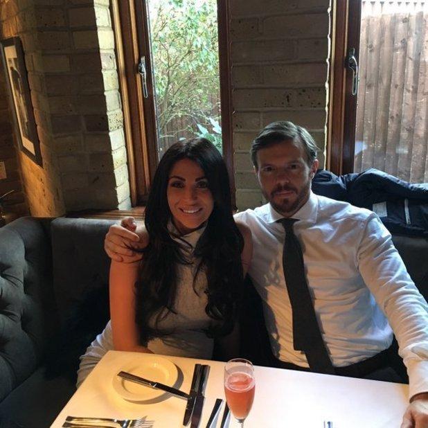 Cara Kilbey and boyfriend Daniel, 31 Dec 2015.