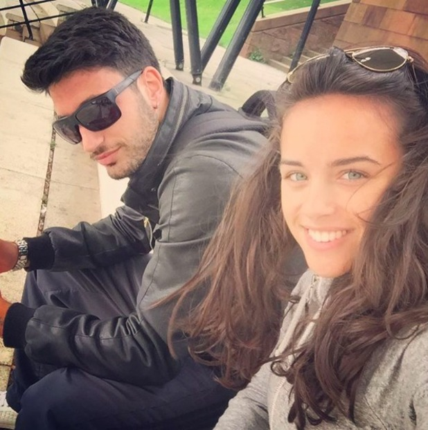 Strictly professional dancer Giovanni Pernice and his partner Georgia May Foote, September 2015.